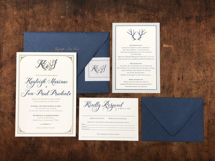 Tmx Fullsizeoutput C0d 51 694488 Lancaster, PA wedding invitation
