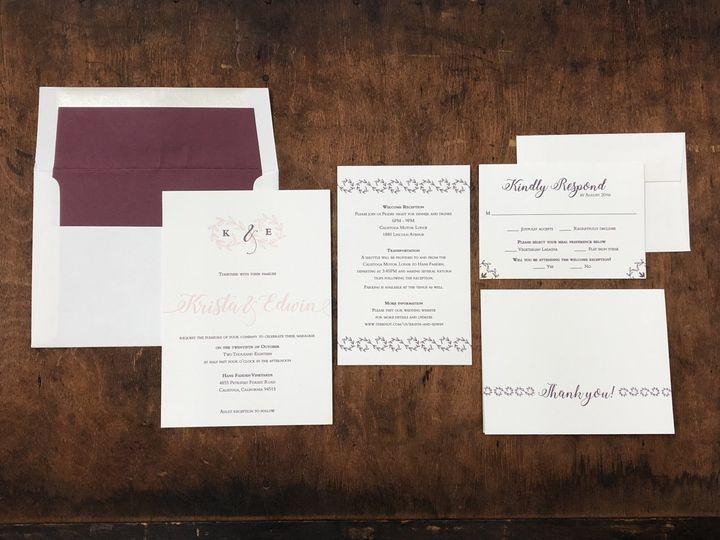 Tmx Fullsizeoutput Ced 51 694488 Lancaster, PA wedding invitation