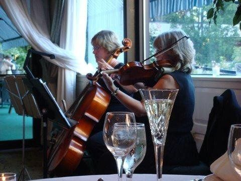 String Duo for cocktails