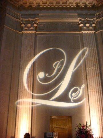 Wedding initials