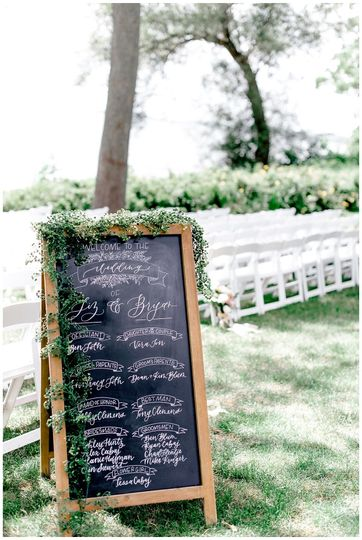 Signage | Grey Rock Lawn - Meghan Lee Harris Photography