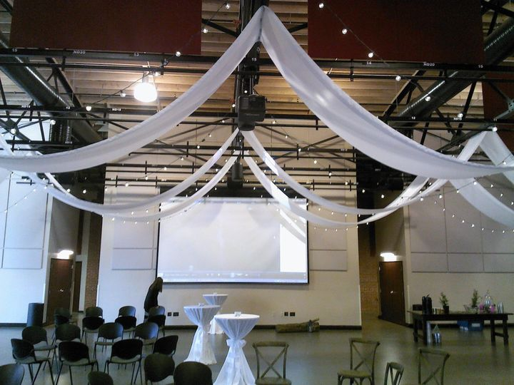 11 14 draping and patio lights at cannon center