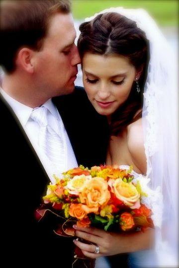 Bride's look
