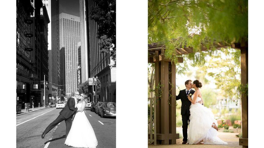 springs preserve wedding photography brandon collu