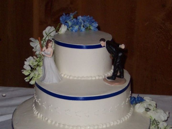 Tmx 1288230615248 Baseballcake Lisbon, ME wedding cake