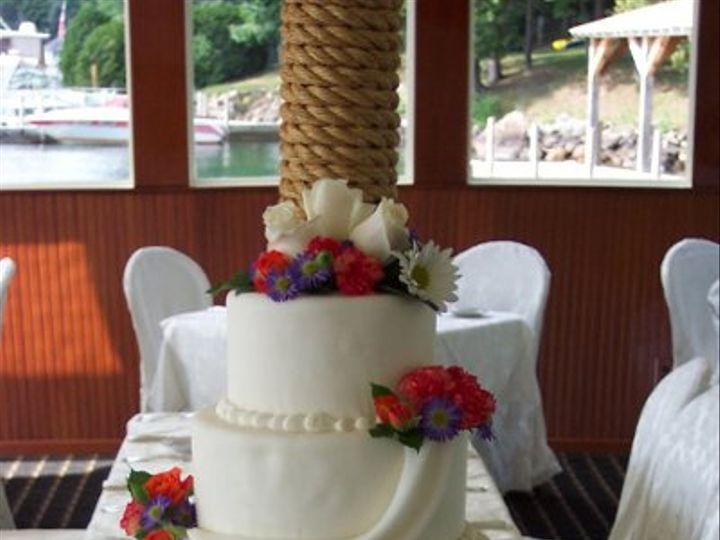 Tmx 1288230783279 Swagg2 Lisbon, ME wedding cake