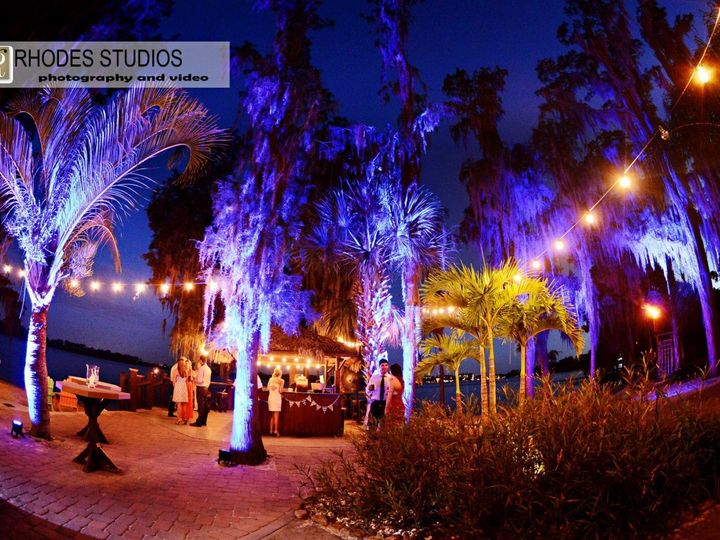 Tmx 1381079360779 Blue Lighting Orlando wedding venue