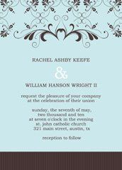 pattern wedding invitation, baby blue wedding invitation design, free bridal shower invitations,...