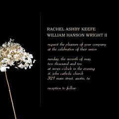 black and cream wedding invitation, bridal shower invitations, free printable wedding invitations,...