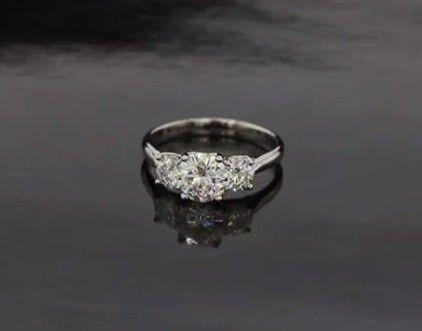 Princess-like ring
