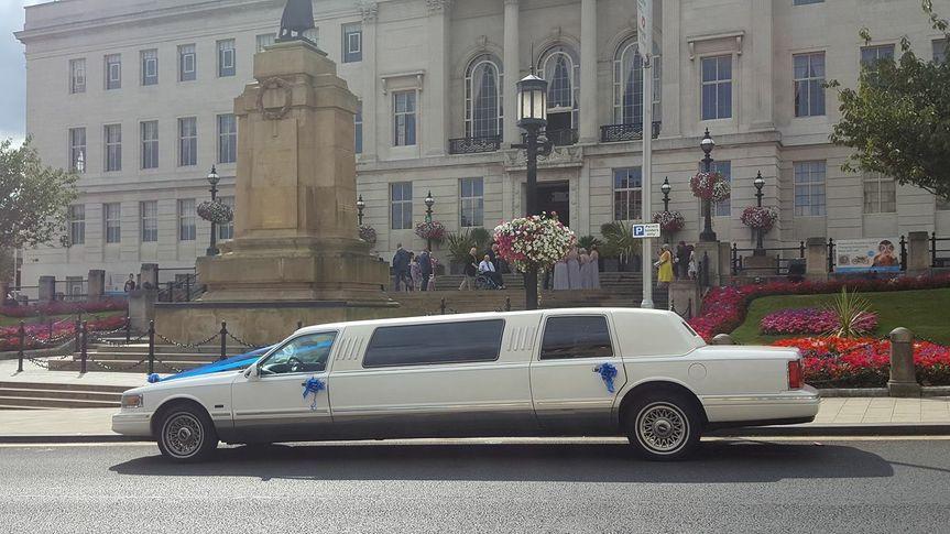 White Classic Limousine