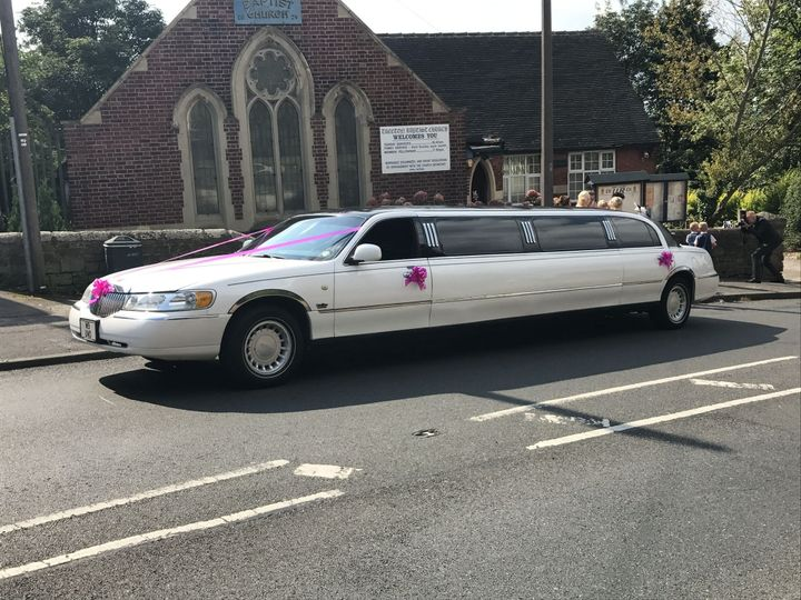 White Millennium Limousine
