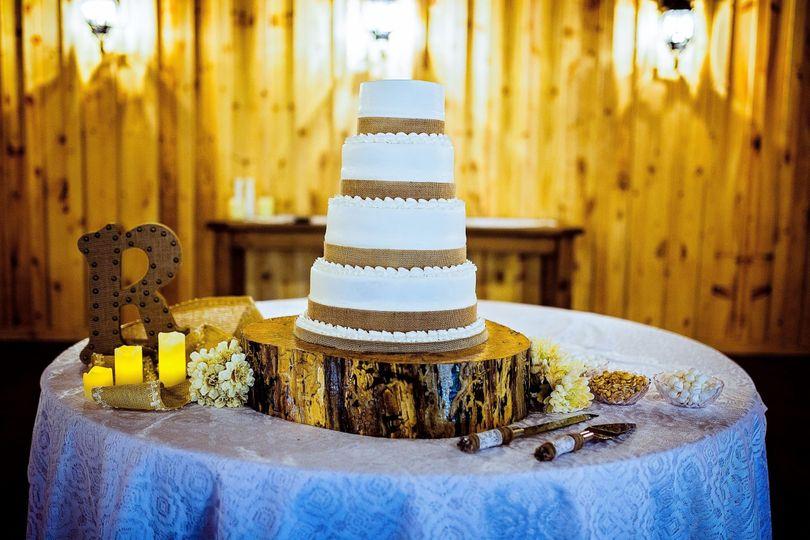 er cake table