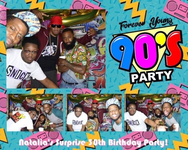 90's Party - Printout