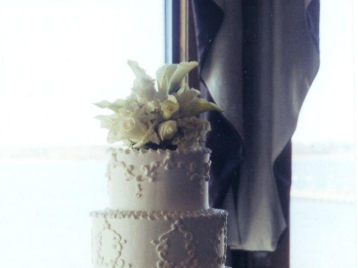Tmx 1467162301344 Scroll Work Milford wedding cake