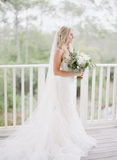 Watercolor, Florida wedding