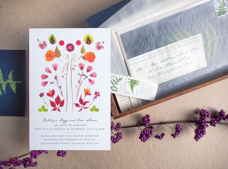 Lovely Day Atelier Invitations Rochester Ny Weddingwire