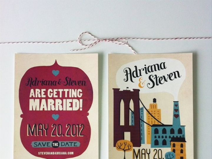 Tmx 1330975222632 Adriana Brooklyn wedding invitation