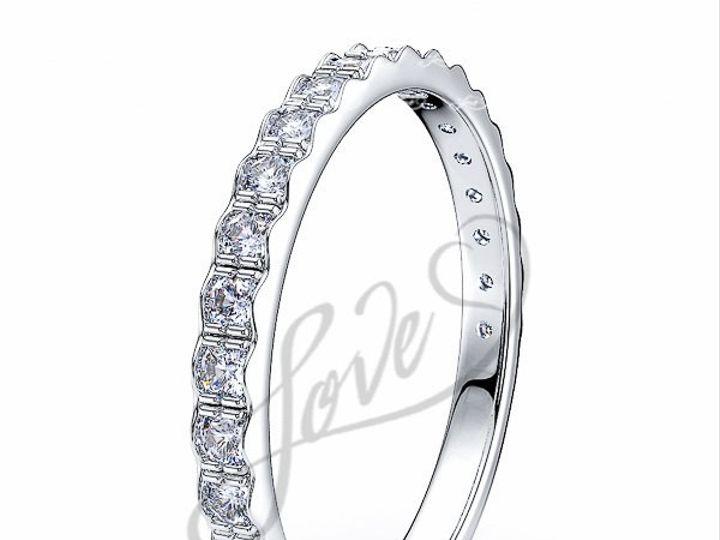 Tmx 1435700678069 510001000whitegolddiamondanniversaryweddingrings New York wedding jewelry