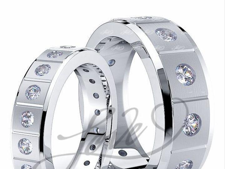 Tmx 1435700890015 112500mattewhitehisandhersweddingbands New York wedding jewelry