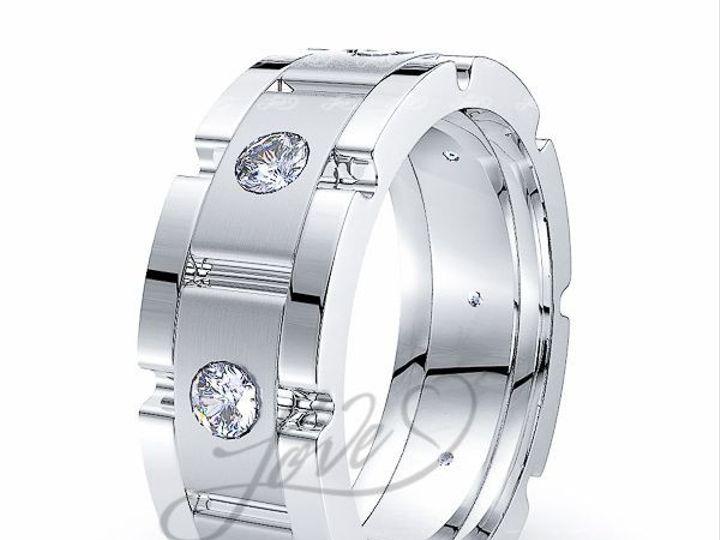 Tmx 1435701030821 711500mattewhitediamondweddingbands New York wedding jewelry