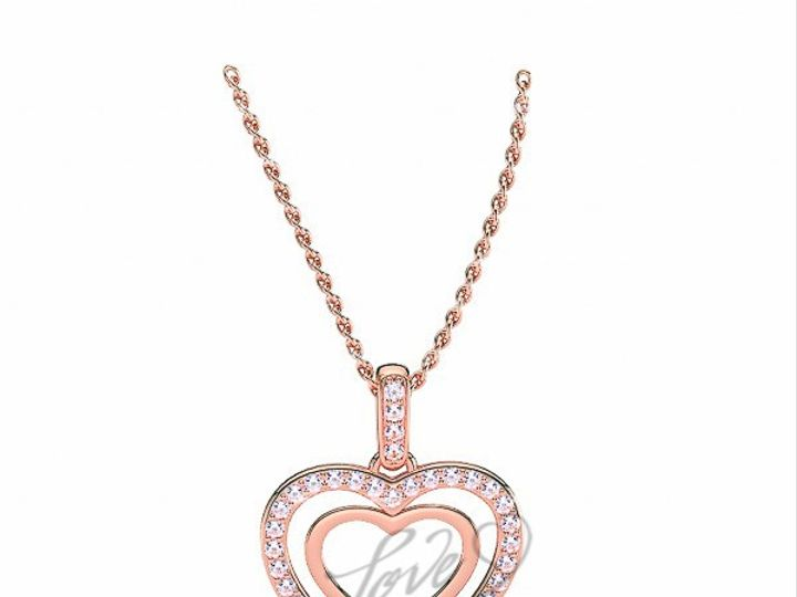 Tmx 1435701064050 1100001200pinkgolddiamondreligiouscrosspendant New York wedding jewelry