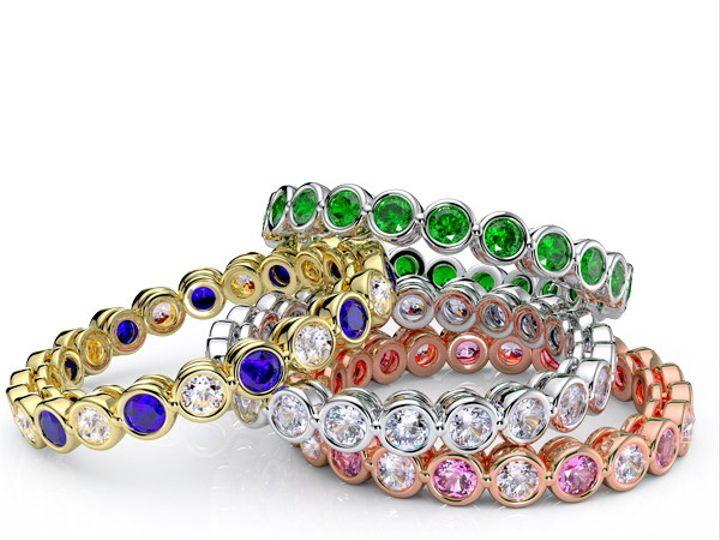 Tmx 1435701356968 Eternityweddingringinstagram New York wedding jewelry