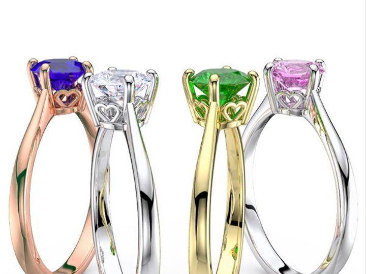 Tmx 1435701420615 Solitaireengagementringsinstagram New York wedding jewelry