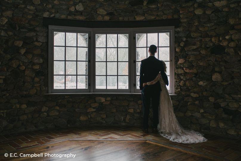 Castle Farms winter wedding