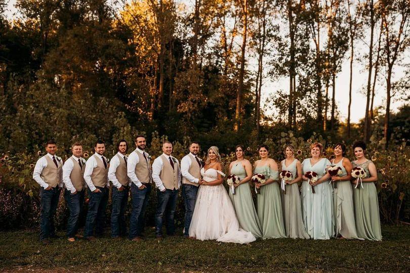 Fall bridalparty