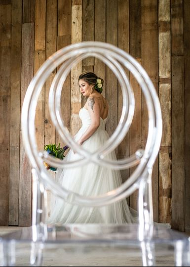 Bride thru chair
