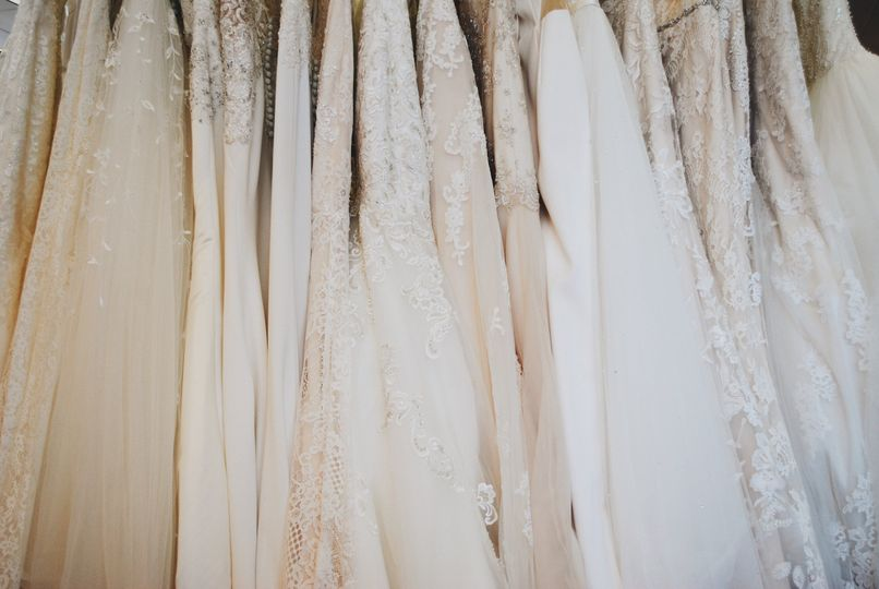 Over 500 wedding gowns!
