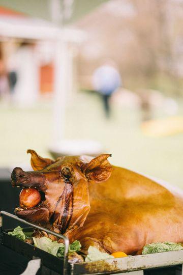 Our Famous Pig Roast!