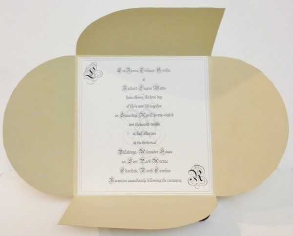 Tmx 1327856762185 Beige3 Charlotte wedding invitation
