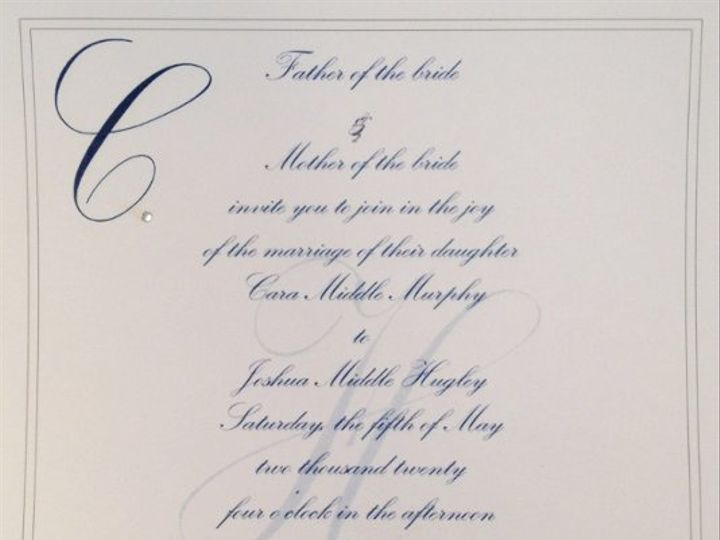 Tmx 1327857459919 Inv Charlotte wedding invitation