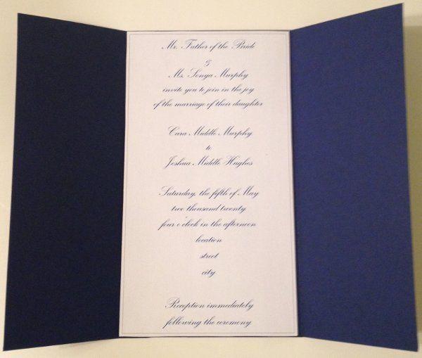 Tmx 1327860322575 C1 Charlotte wedding invitation