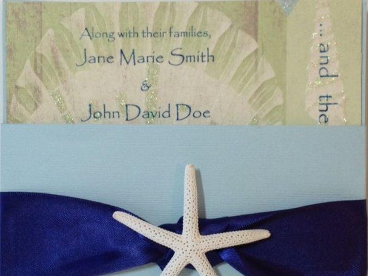 Tmx 1327860772763 Seasaltoutside Charlotte wedding invitation