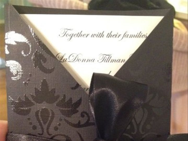 Tmx 1327861725966 V1 Charlotte wedding invitation