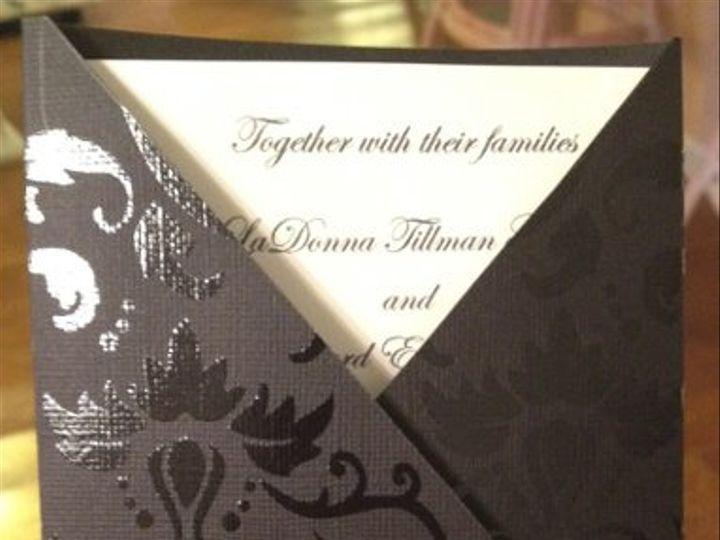 Tmx 1327861854028 V Charlotte wedding invitation