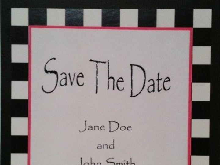 Tmx 1327862264294 CheckSaveTheDateHeart Charlotte wedding invitation