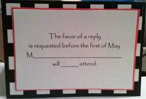 Tmx 1327862317856 CheckResponse Charlotte wedding invitation
