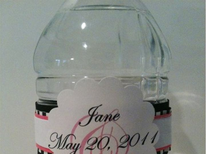 Tmx 1327862700138 CheckWaterBottle2 Charlotte wedding invitation