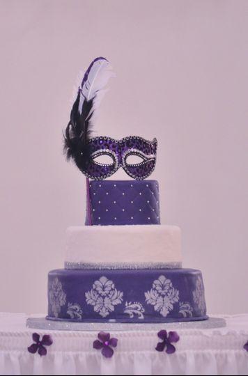 quinceanera masquerade cak