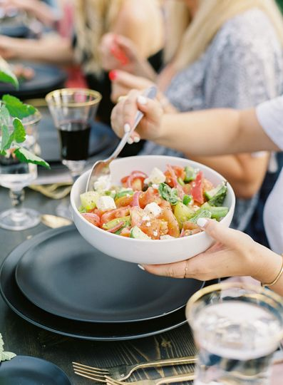 Heirloom Tomato & Feta Salad