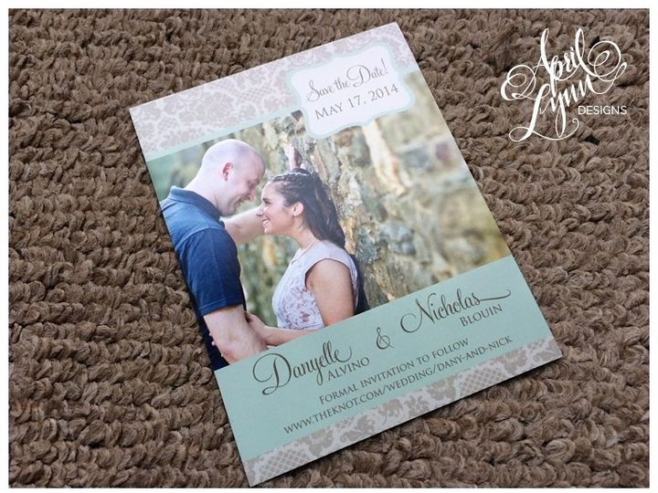 Tmx 1401053391961 Danyelle  Nick Save The Date Magne Langhorne, Pennsylvania wedding invitation