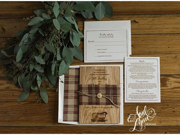 Tmx 1444148477442 2015 10 060004 Langhorne, Pennsylvania wedding invitation