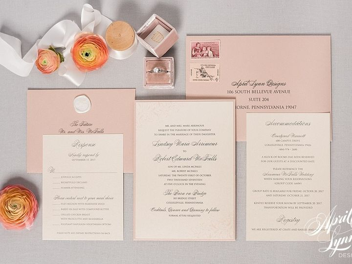 Tmx 1510939927317 Carlyfullerphotography 4 4123 Langhorne, Pennsylvania wedding invitation