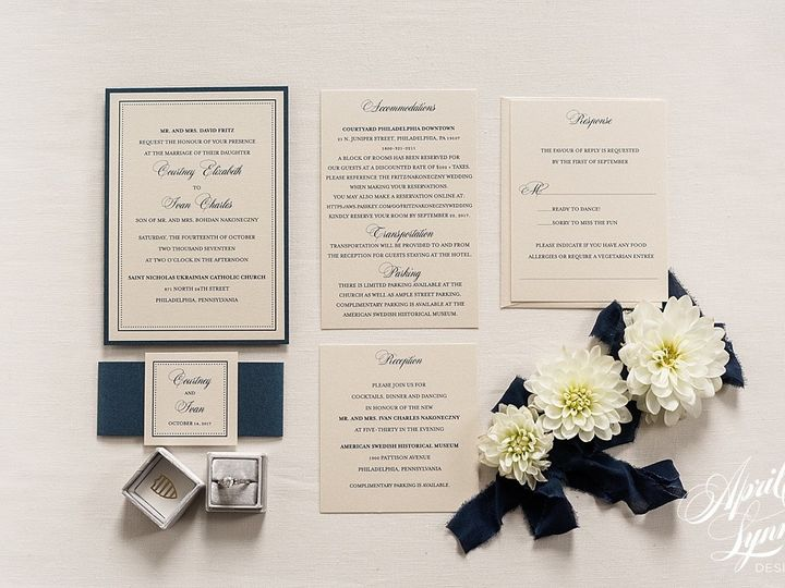 Tmx 1510939936035 Carlyfullerphotography 4 4154 Langhorne, Pennsylvania wedding invitation