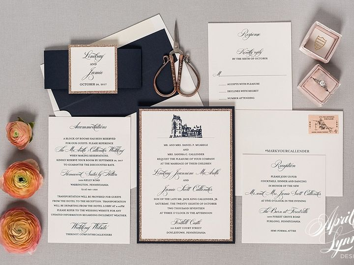Tmx 1510939946121 Carlyfullerphotography 4 4189 Langhorne, Pennsylvania wedding invitation