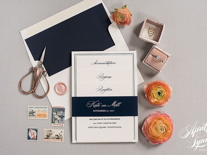 Tmx 1510939953901 Carlyfullerphotography 4 4202 Langhorne, Pennsylvania wedding invitation